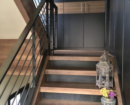 Moderne Treppenhausgestaltung