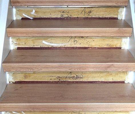Stufen ausmessen und zuschneiden