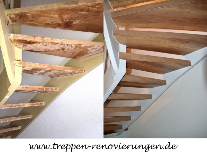 offene treppe renovieren offene treppen treppenrenovierung treppensanierung h bscher offene. Black Bedroom Furniture Sets. Home Design Ideas