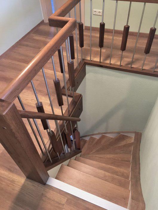 treppenrenovierung treppensanierung schran. Black Bedroom Furniture Sets. Home Design Ideas