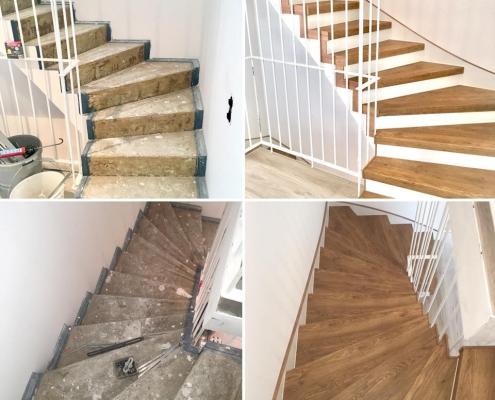 Bevorzugt Treppenrenovierung Betontreppe - Treppen-Renovierungen Schran VA12
